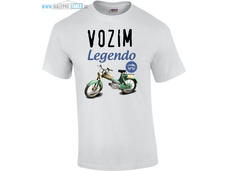 Majica vozim legendo Tomos 3