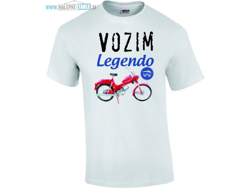 Majica vozim legendo Tomos