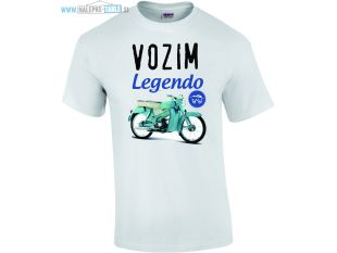 Majica vozim legendo Tomos 2