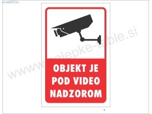 TABLICA VIDEO NADZOR